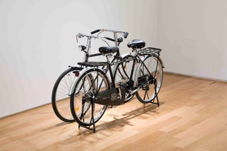 25_두 대의 자전거_2014_bicycles,iron_dimensions variable