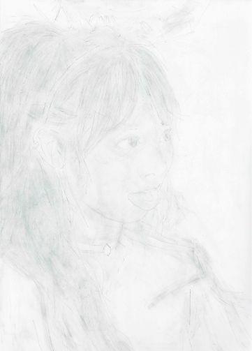 강정석_옆모습 Profile_2017_Pencil on paper_41 x 29.3 cm