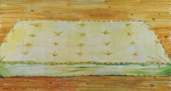 Simmons  oil on canvas 300x160cm 2009
