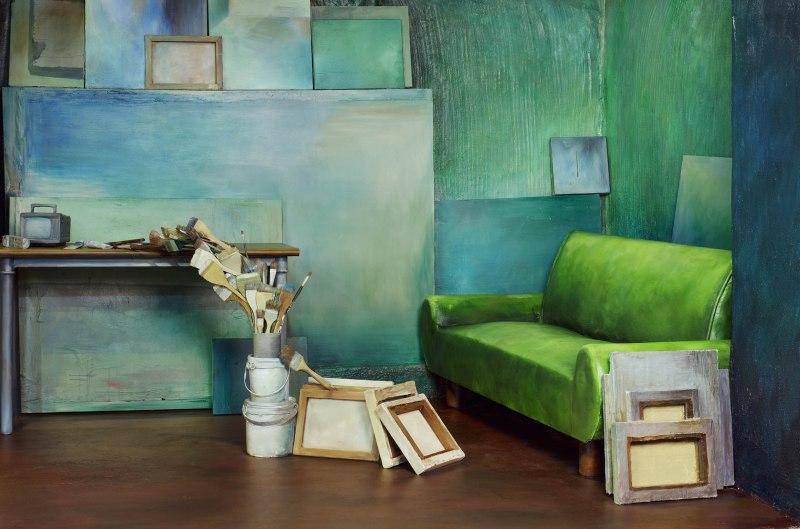 Hyun Mi Yoo, Brushes(Composition),2009, C-print,156x235cm, Courtesy of the artist