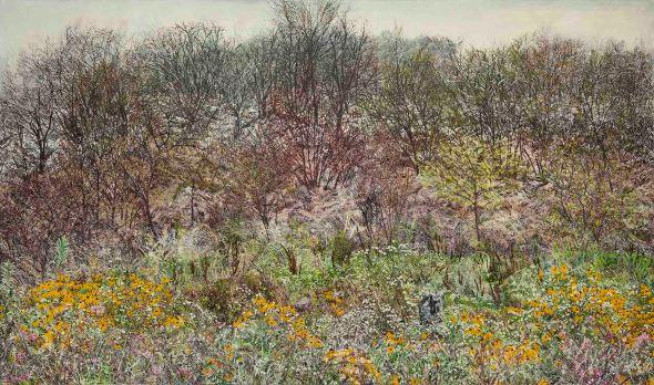 1_허수영, 산양리10 Sanyangri10, 2014, oil on canvas, 197x333cm
