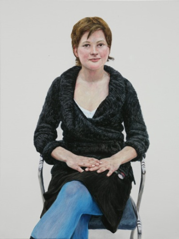 Anna Heidenhain, oil on canvas 80.3x60.6cm, 2005