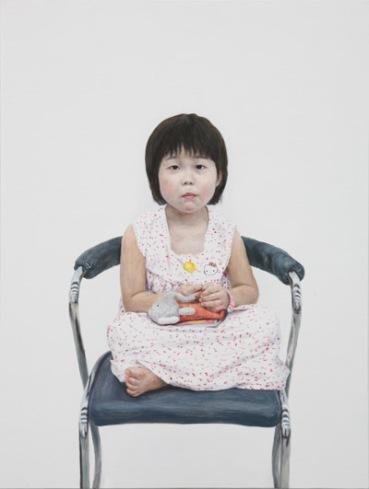 이윤서2 Lee Yoon-Seo2 oil on canvas 80.3x60.6cm, 2006