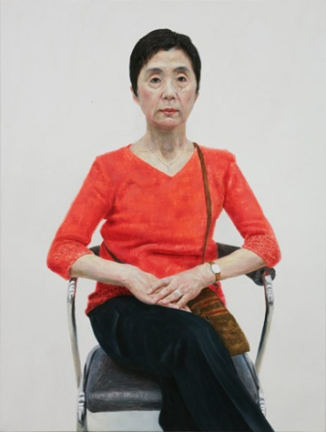 Hisakado Michiko, oil on canvas 80.3x60.6cm, 2006