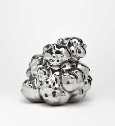 이강원_물과 구름_Water and Cloud_stainless steel_29x32x32cm_2013