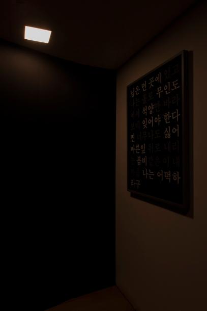 최대진_김추자 메들리_Kim Chooja Medley_Digital print, sound_24 hours_2015 2016