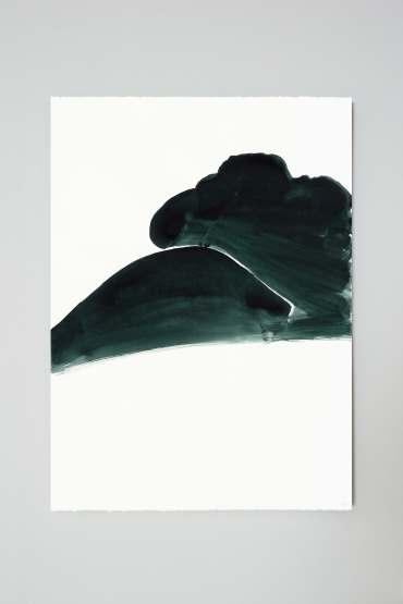 양희아_어둠의 숲, A풍경_water color on paper_76 x 56 cm_2014