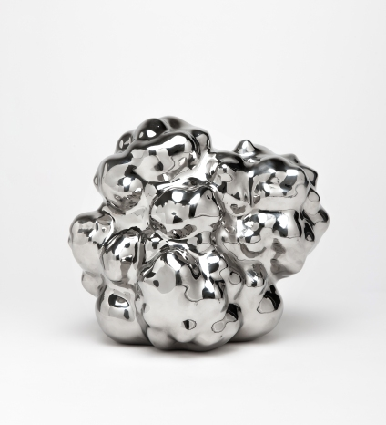 이강원_(2)_물과 구름_2013_stainless steel_31.5x29x34.5cm