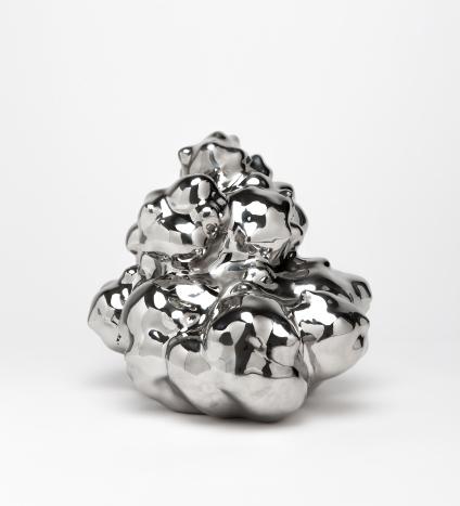 이강원_(3)_물과 구름_2013_stainless steel_28.5x31.5x34.5cm