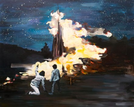 전혜림_Night_oil on canvas_61 x 73cm_2014