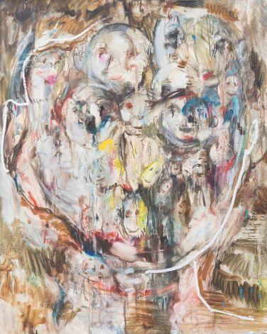 채온_귀신 얼굴 oil on canvas 90.9x72