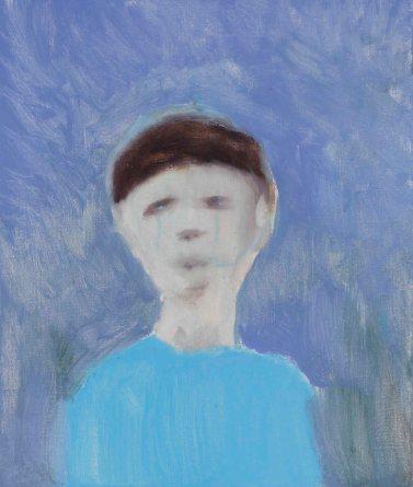 채온_우울한 남자 oil on canvas 53.0x45