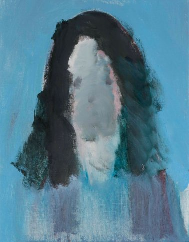 채온_지워진 여자1 oil on canvas 40.9x31