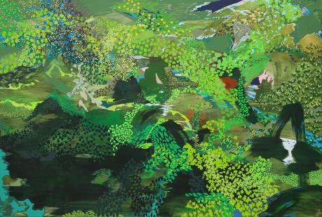 임자혁, 먼 산, 2016, 캔버스에 아크릴릭, 130.3x193.9cm.jpg