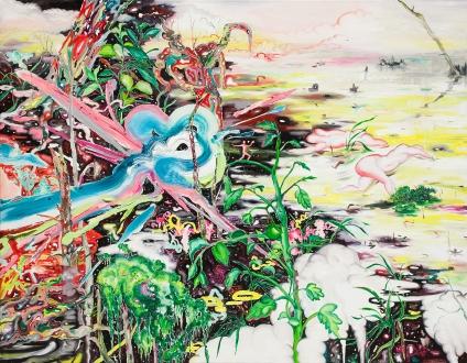 이세준 굉음2 Deafening2 oil on canvas 90.9.x116.8cm 2013