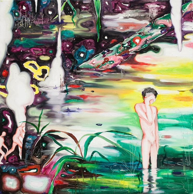 이세준 늪 위에 선 소년 Boy on the swamp oil on canvas xcm  2013.jpg
