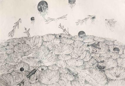 이준용_종말vs번식2_pencil on paper_2011_39