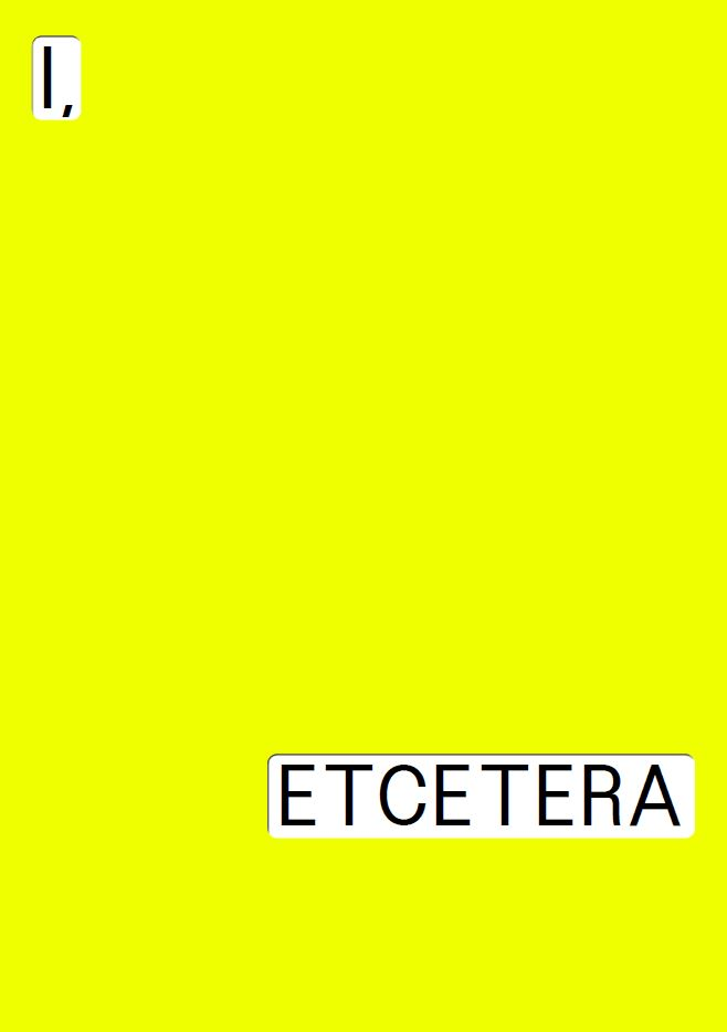 I,Etcetera-poster